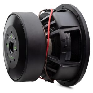 HDX4 12 Inch 2000 Watt RMS, 6000 Watt Peak Power Subwoofer at 3/4 turn to the right