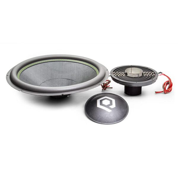 Recone Kit for HDC3 Series Subwoofers with 1500 Watts RMS, 4500 Watts Peak Power, viewed from front.