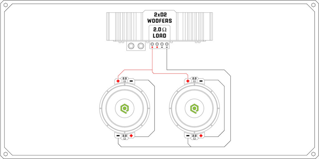 Subs ohm wiring 1 dual 43 Dual