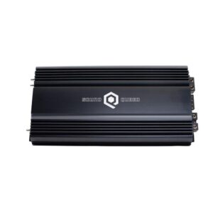 6000W monoblock amplifier top angle view